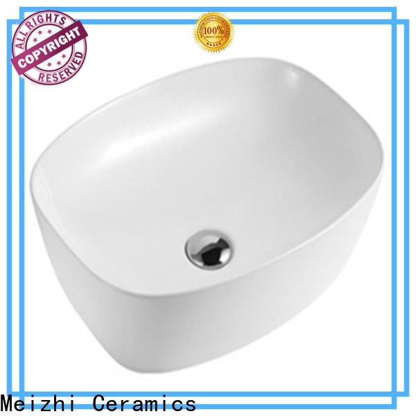 Meizhi wash basin size manufacturer for hotel