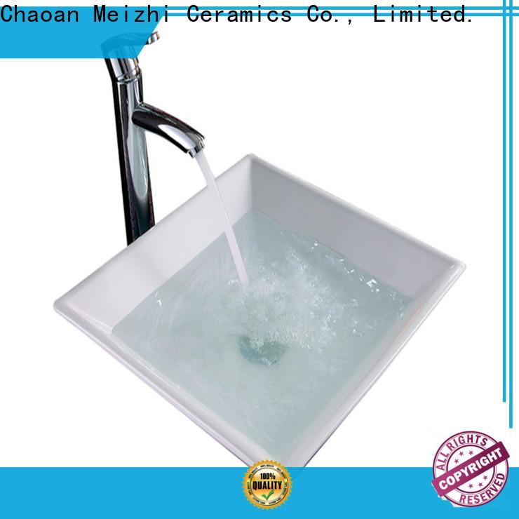 Meizhi white art basin wholesale for washroom