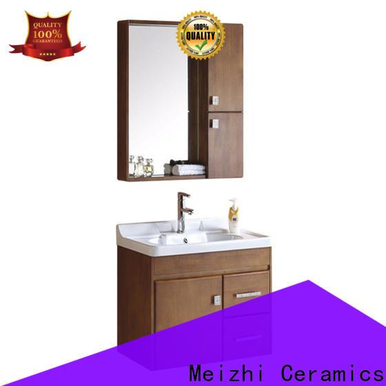Meizhi bathroom cabinet supplier for home