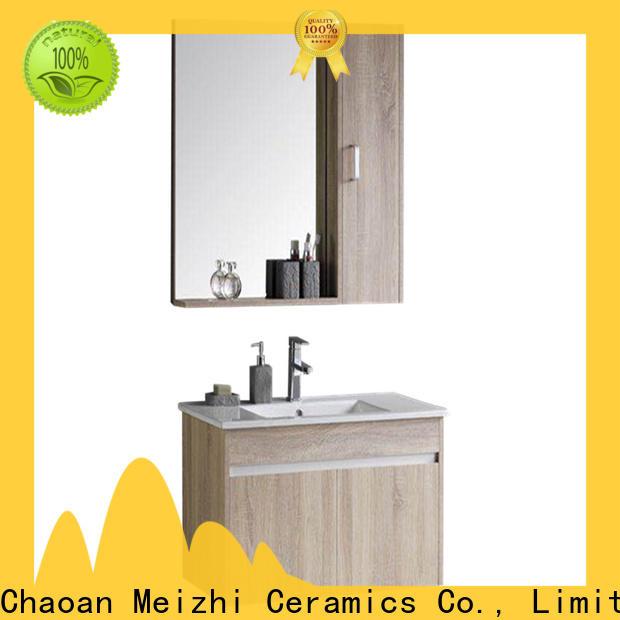 Meizhi custom design bathroom vanity cabinets custom for washroom