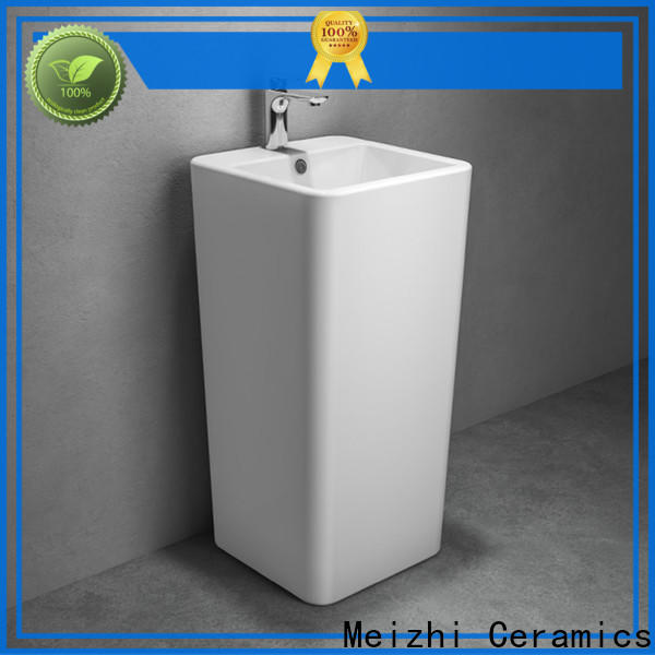 Meizhi high quality wash basin furniture customized for hotel