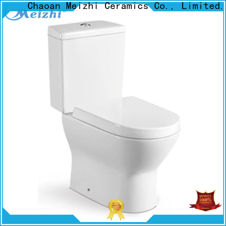 Meizhi durable two piece toilet customized for home
