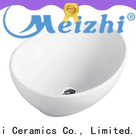 elegant ceramic wash basin customized for home