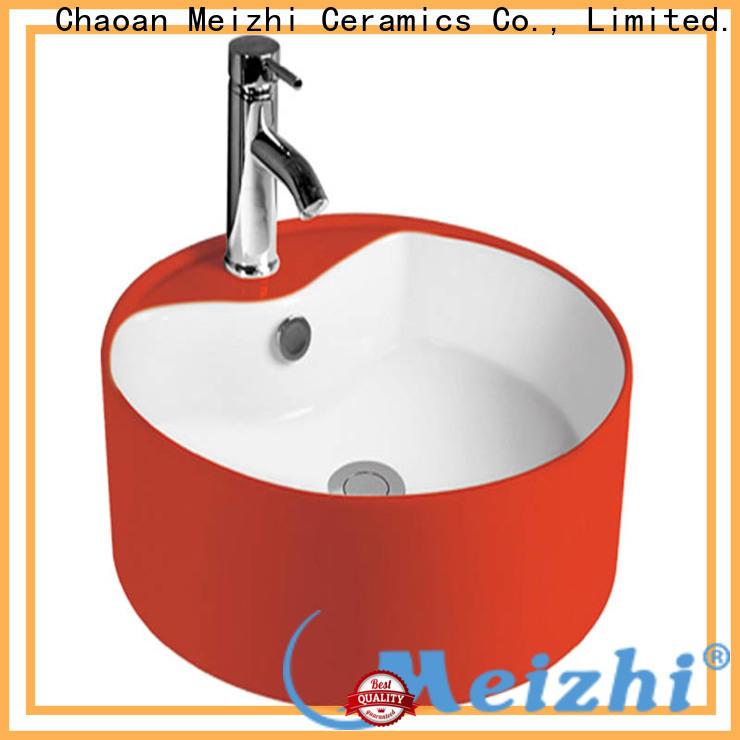 Meizhi sink basin supplier for bathroom