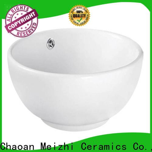 Meizhi ceramic latest wash basin manufacturer for washroom