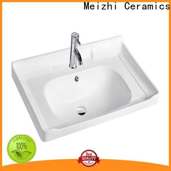 Meizhi wash basin sink manufacturer for washroom