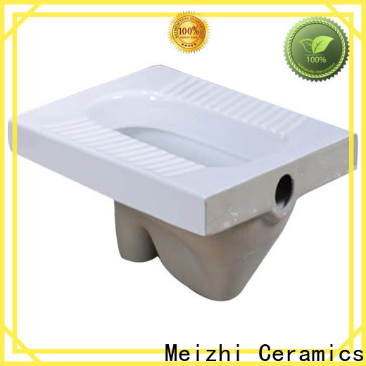 Meizhi modern design squatting pan manufacturer for home