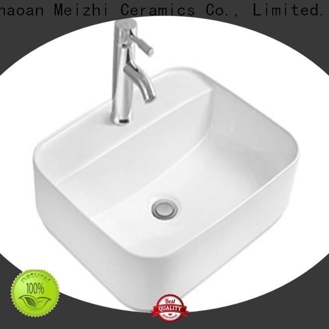 fancy ceramic wash basin manufacturer for hotel