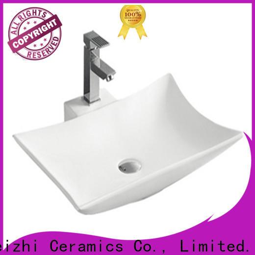 Meizhi white wash basin models supplier for home