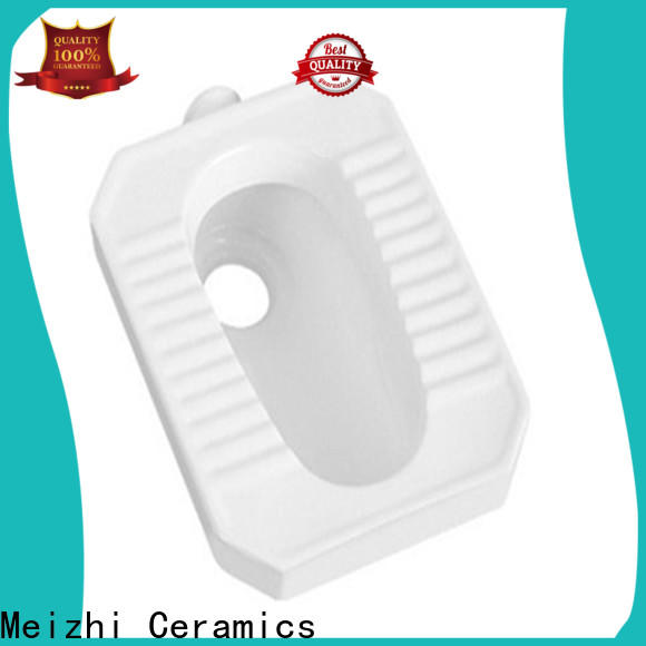 Meizhi ceramic asian toilet personalized for hotel