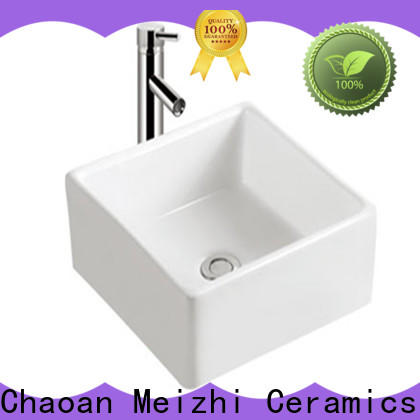 Meizhi elegant toilet hand basin directly sale for home
