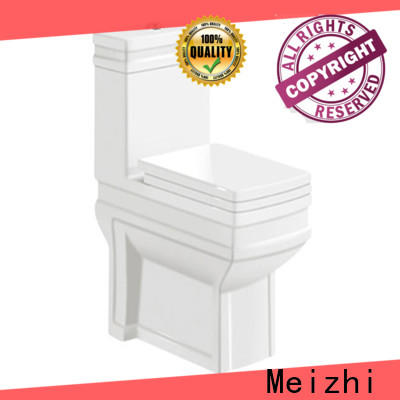Meizhi new design one piece toilet reviews directly sale for hotel