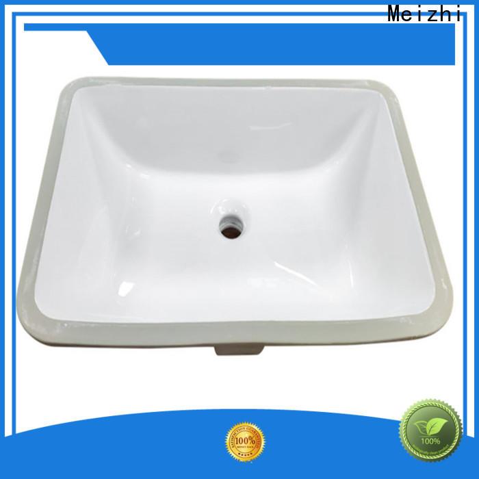 Meizhi high quality countertop basin unit wholesale for washroom