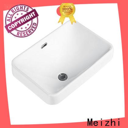 Meizhi above counter basins manufacturer for bathroom