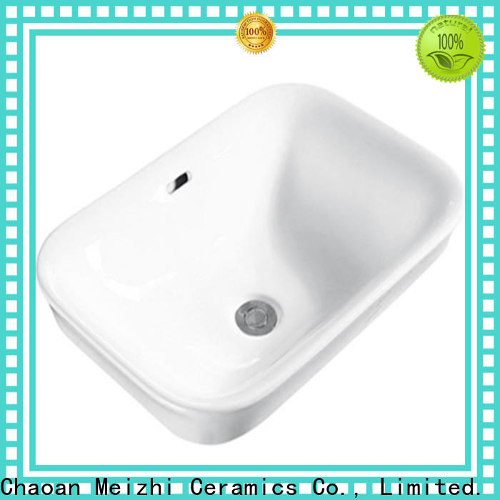 Meizhi high quality table top wash basin designs wholesale for washroom