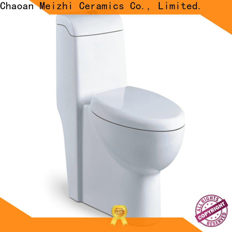 Meizhi square one piece wc manufacturer for bathroom