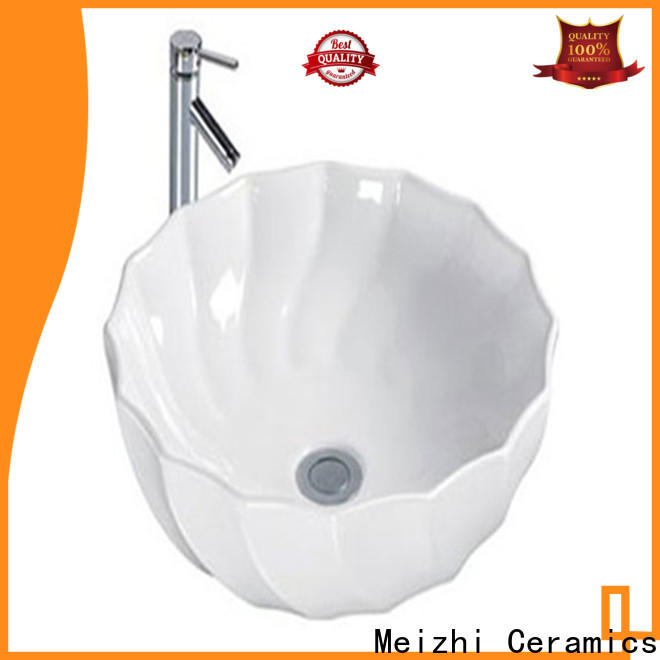 Meizhi fancy cheap wash basin customized for washroom