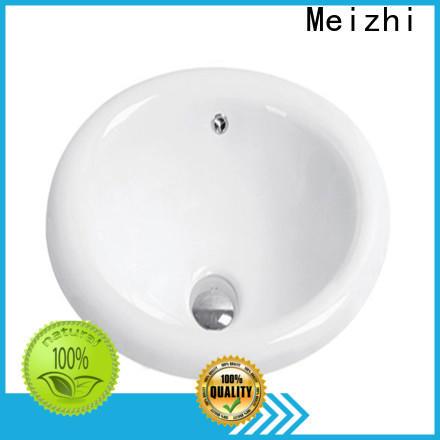Meizhi popular counter top basin wholesale for washroom
