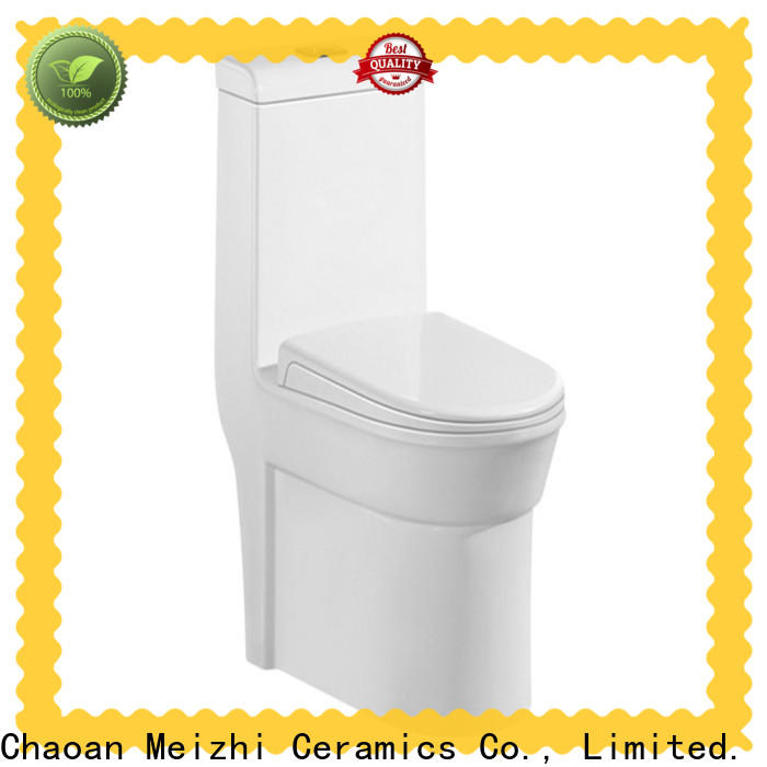 Meizhi one piece round toilet with good price for bathroom