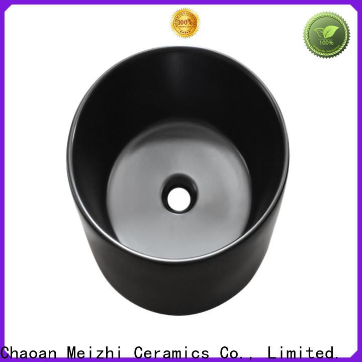 Meizhi high quality black basin supplier for cabinet
