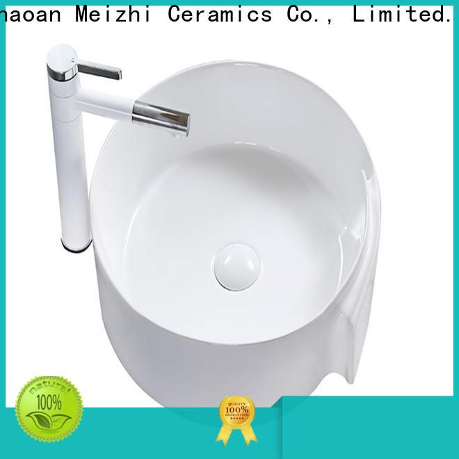 ceramic latest wash basin wholesale for hotel