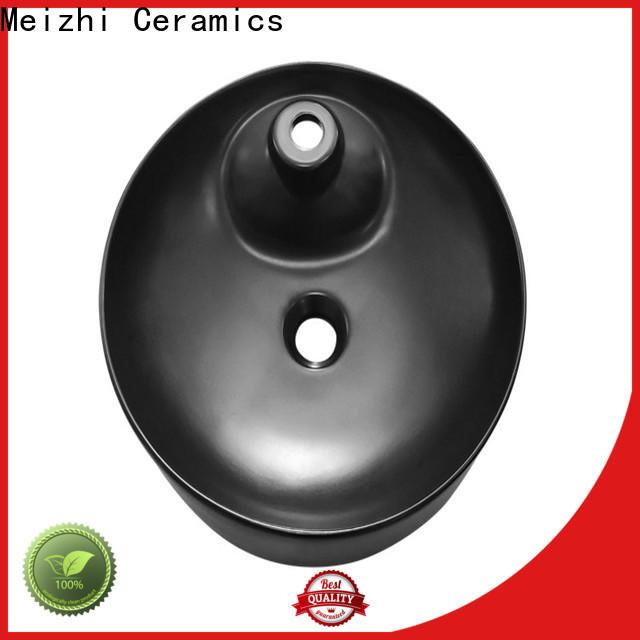 Meizhi high quality black bathroom sink wholesale for washroom