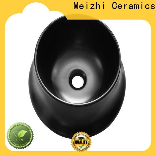 Meizhi black basin supplier for washroom