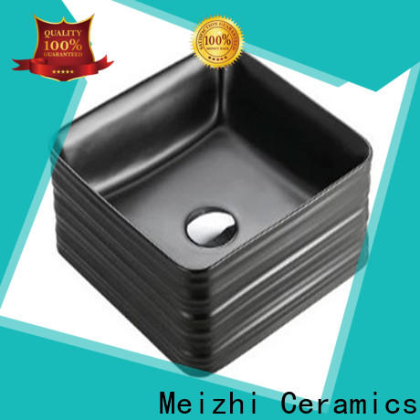 Meizhi creative black bathroom sink wholesale for bathroom