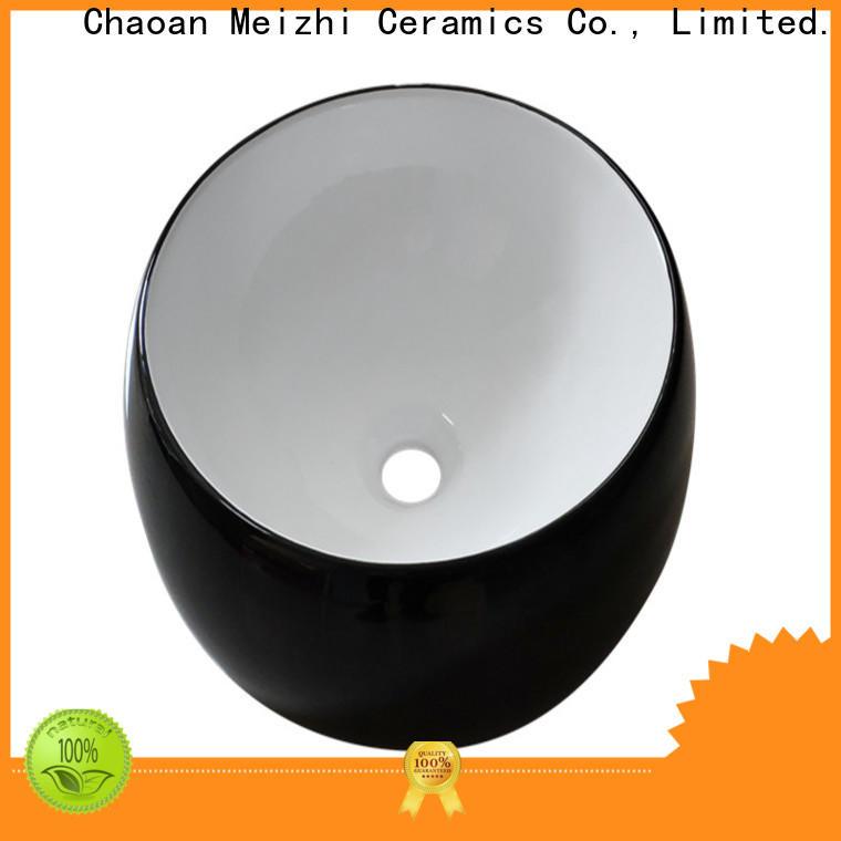 Meizhi basin black manufacturer for bathroom