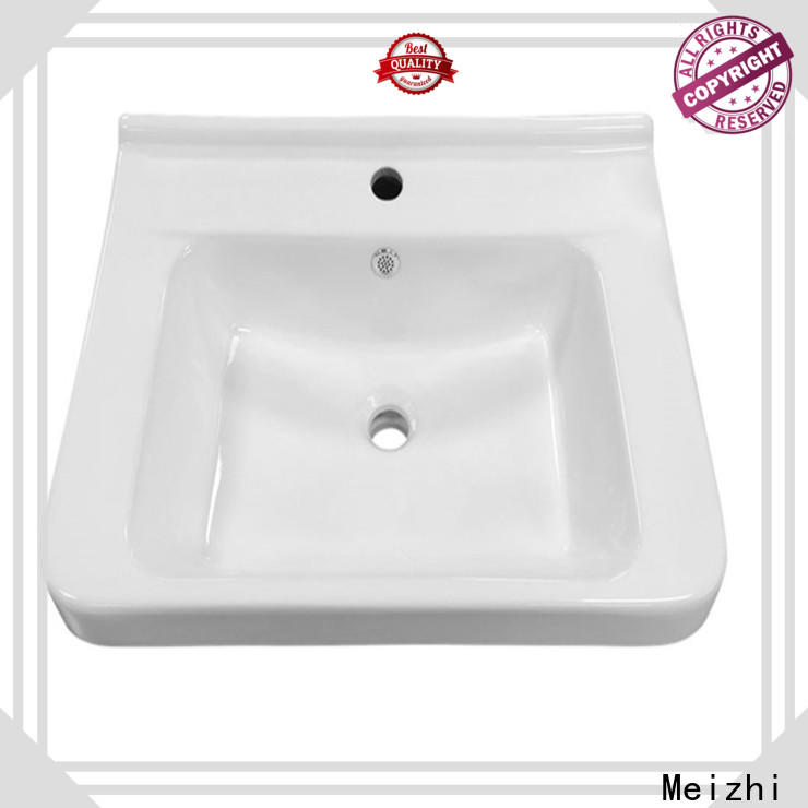 Meizhi excellent small wash basin customized for bathroom