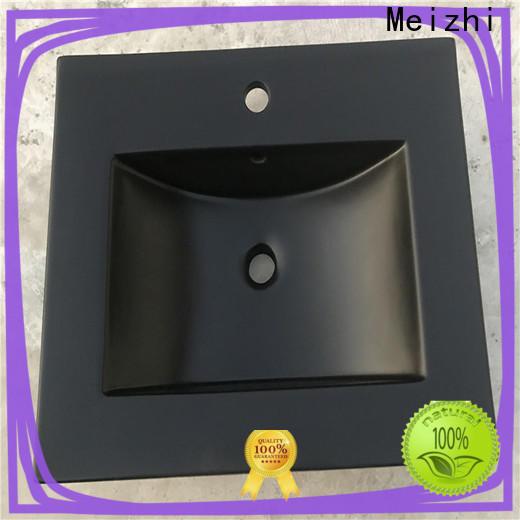 Meizhi creative basin black factory for hotel