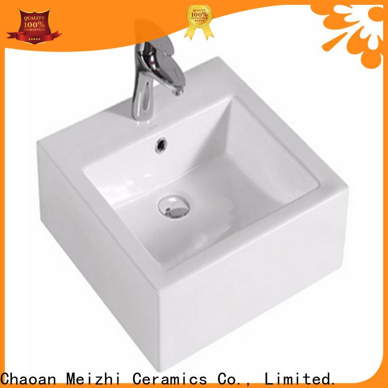 Meizhi modern design latest wash basin wholesale for hotel