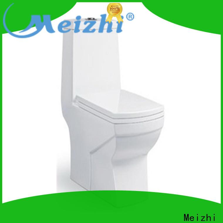 ceramic 1 piece toilet customized for bathroom