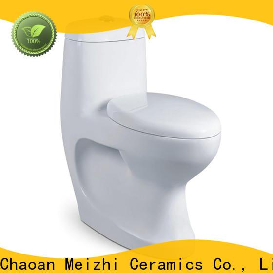 Meizhi one piece elongated toilet customized for washroom