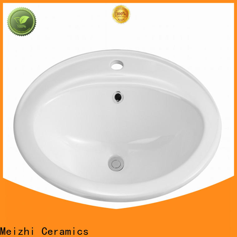 Meizhi ceramic table top wash basin directly sale for home