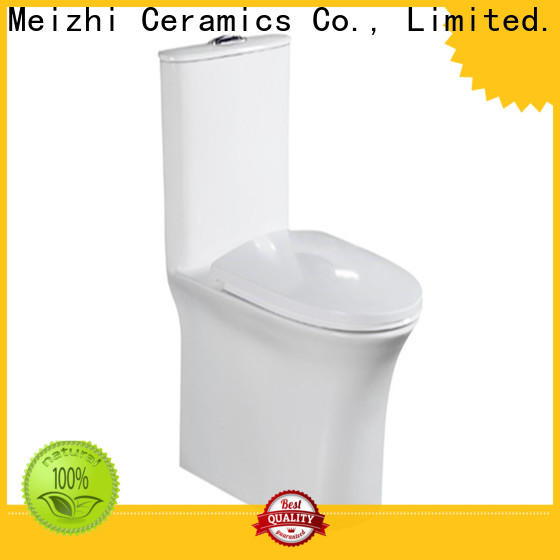 Meizhi one piece round toilet directly sale for home