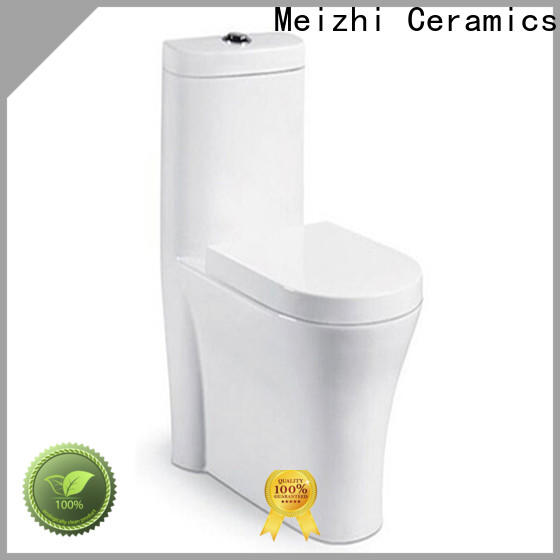Meizhi best one piece toilet with good price for bathroom