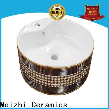 Meizhi gold wash basin manufacturer for bathroom