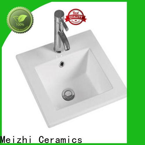 Meizhi hand wash basin customized for bathroom