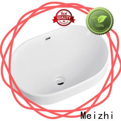 Meizhi ceramic wash basin top wholesale for washroom
