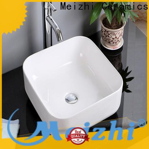Meizhi modern design art basin factory price for hotel
