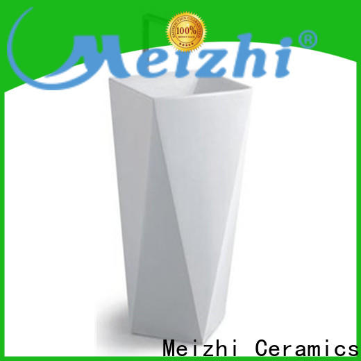Meizhi wash basin furniture supplier for hotel