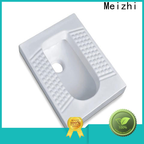 Meizhi high quality chinese squat toilet factory for hotel