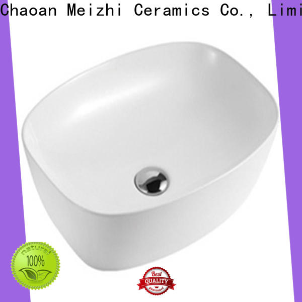 Meizhi wash basin size factory price for home