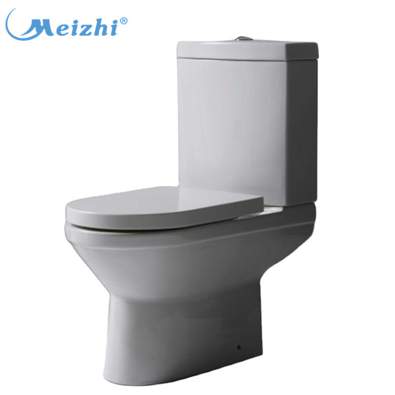 Chaozhou bathroom ceramic cheap siphon s-trap two piece toilet price