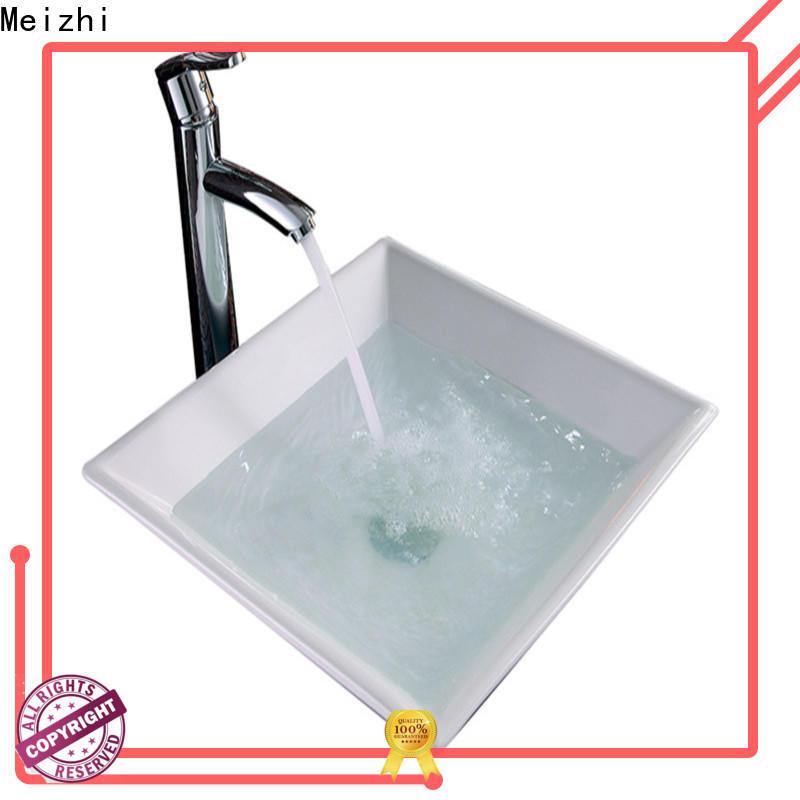 printed ceramic wash basin wholesale for bathroom