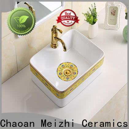 Meizhi stylish wash basin supplier for hotel