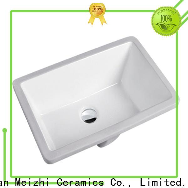 Meizhi popular countertop sink supplier for hotel