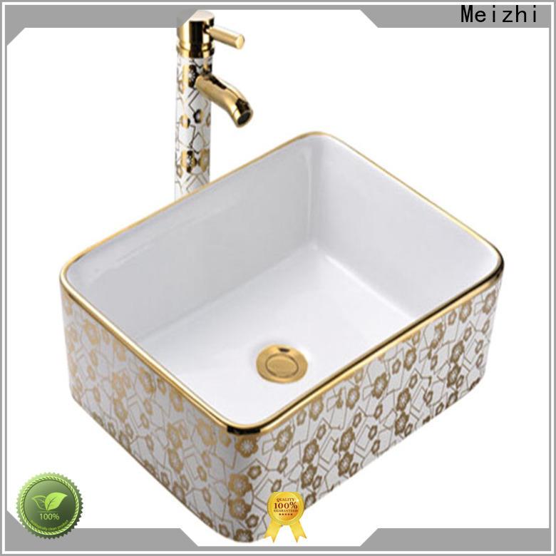 Meizhi hot selling toilet wash basin wholesale for washroom