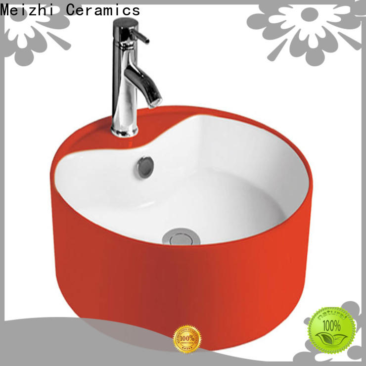 Meizhi gold wash basin directly sale for hotel